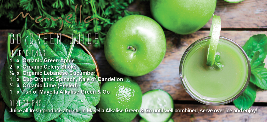 Mayella Go Green Juice