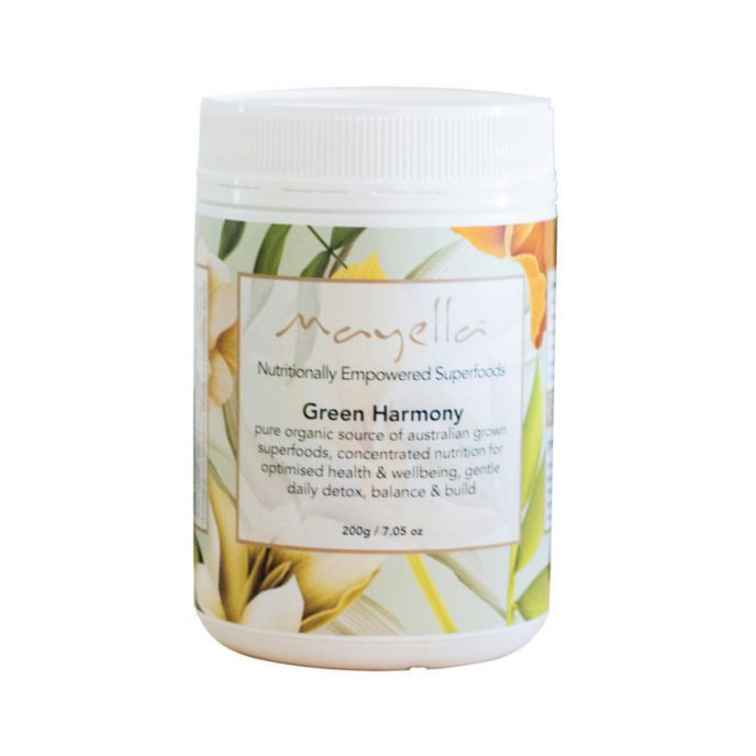 Mayella Green Harmony Nutritional Blend Vegan organic grown and made in Australia