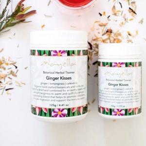Mayella Ginger Kisses Tisane Organic Vegan Palm oil free