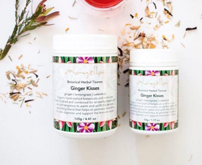 Mayella Ginger Kisses Tisane Organic Vegan Palm oil free