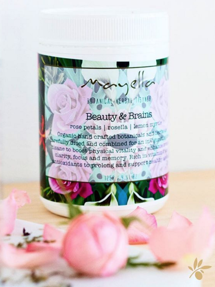 Mayella Beauty & Brains Tisane Organic Vegan Herbal Tea