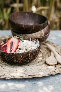 Mayella Coconut serving bowls