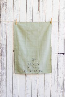 Mayella Living Khaki Cotton Tea Towel
